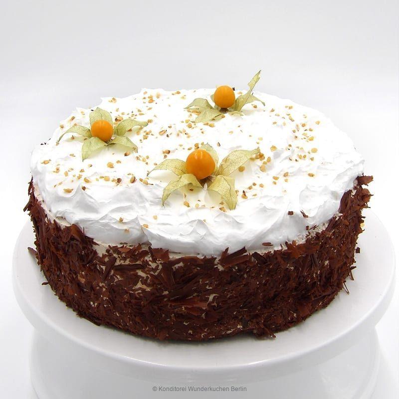 Kirsch-Bananen-Torte vegan. Online Shop und Lieferservice Kuchen Torten Berlin