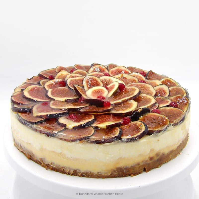 NY Cheesecake Feige glutenfrei