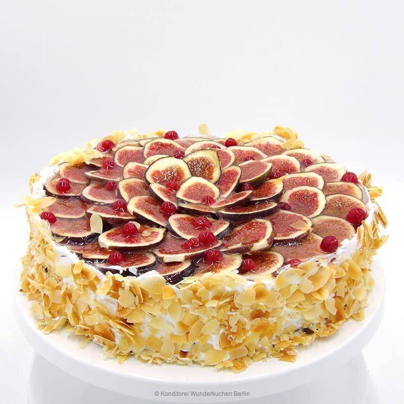 Obstkuchen Feige vegan