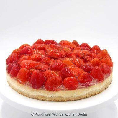 tarte-schmand-erdbeer-glutenfrei. Online Shop und Lieferservice Kuchen Torten Berlin-