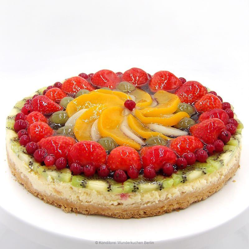 tarte-schmand-mixfrucht-glutenfrei. Online Shop und Lieferservice Kuchen Torten Berlin-