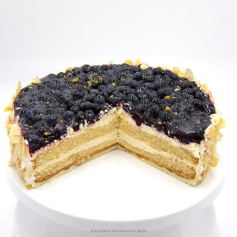 torte-blaubeer-saison-glutenfrei-. Online Shop und Lieferservice Kuchen Torten Berlin-
