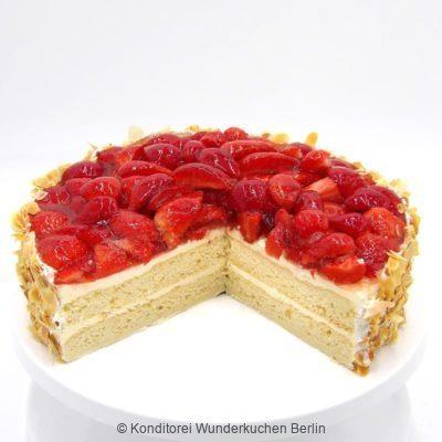 torte-erdbeer-glutenfrei-. Online Shop und Lieferservice Kuchen Torten Berlin-