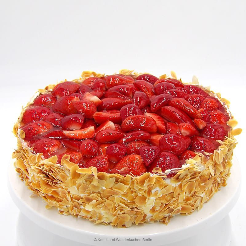 torte-erdbeer-glutenfrei. Online Shop und Lieferservice Kuchen Torten Berlin-