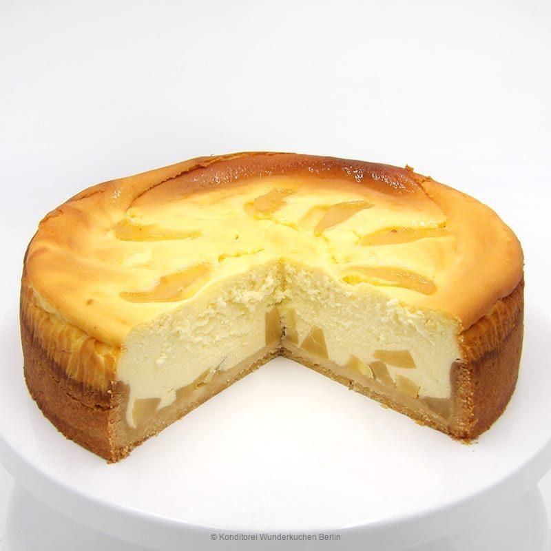 Käsekuchen Birne. Online Shop und Lieferservice Kuchen Torten Berlin-