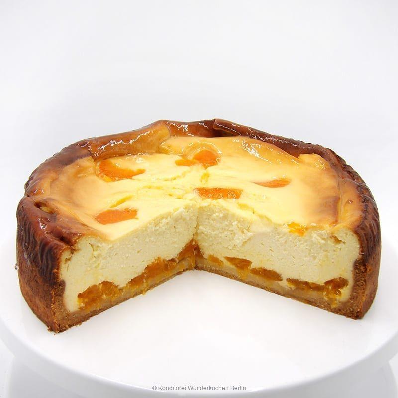 Käsekuchen Mandarine. Online Shop und Lieferservice Kuchen Torten Berlin-
