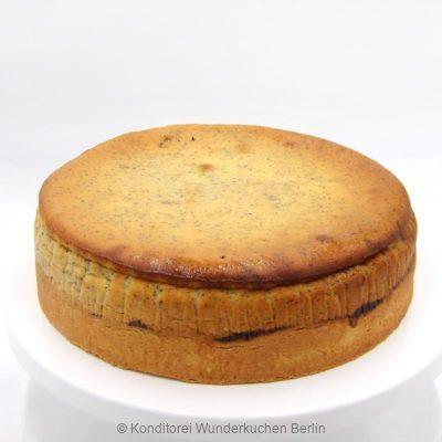 Käsekuchen Mohn. Online Shop und Lieferservice Kuchen Torten Berlin-