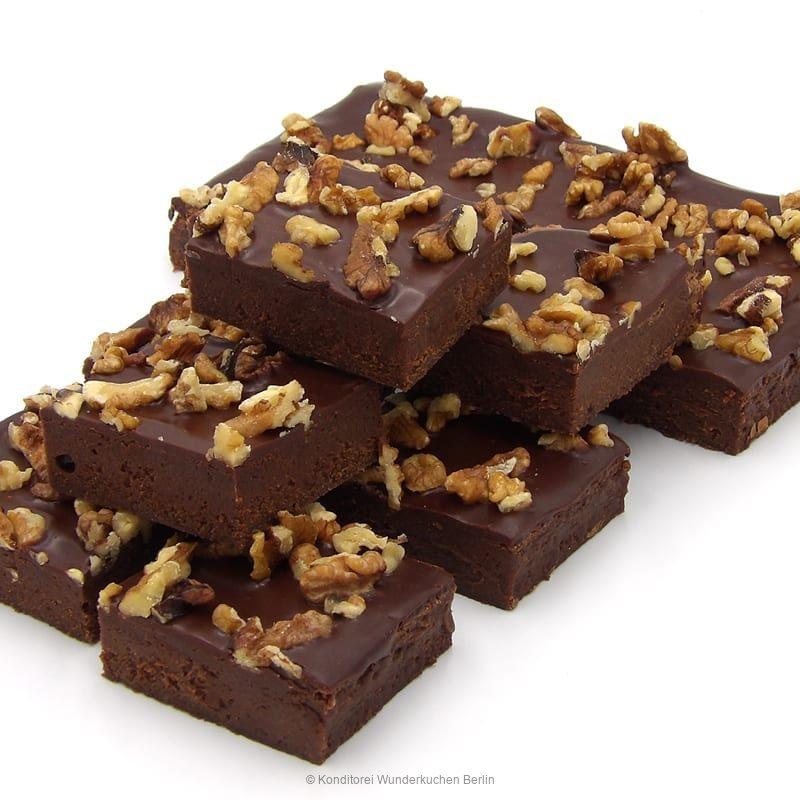 brownie-walnuss-. Online Shop und Lieferservice Kuchen Torten Berlin-