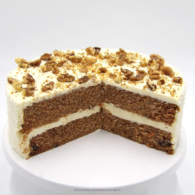 ku-karotte-gross-rund-. Online Shop und Lieferservice Kuchen Torten Berlin-