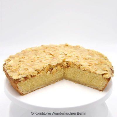 Schwedischer Mandelkuchen. Online Shop und Lieferservice Kuchen Torten Berlin.