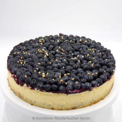 NY Cheesecake Saison Blaubeeren. Online Shop und Lieferservice Kuchen Torten Berlin-