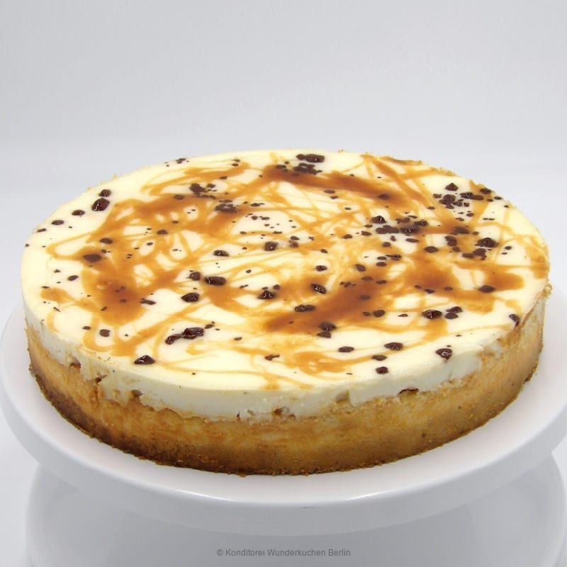 NY Cheesecake Spezial Karamell. Online Shop und Lieferservice Kuchen Torten Berlin.