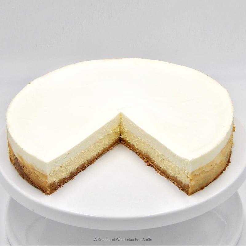 NY Cheesecake Klassik Natur. Wunderkuchen Berlin Lieferservice