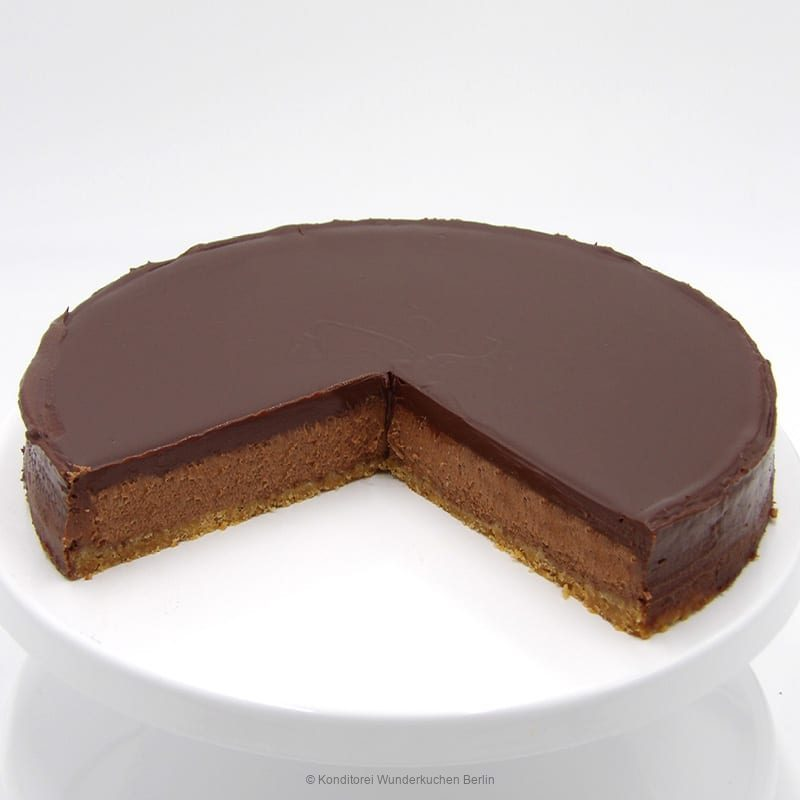 NY Cheesecake Schoko Anschnitt. Online Shop und Lieferservice Kuchen Torten Berlin.