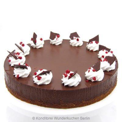 NY Cheesecake Schokolade Erdbeer. Online Shop und Lieferservice Kuchen Torten Berlin-