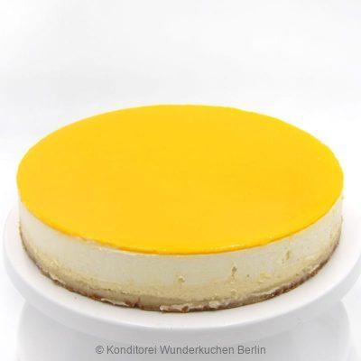 NY Cheesecake Spiegel Mango. Online Shop und Lieferservice Kuchen Torten Berlin-