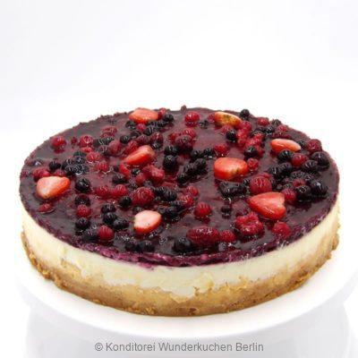 NY Cheesecake Spiegel Waldbeer. Online Shop und Lieferservice Kuchen Torten Berlin-