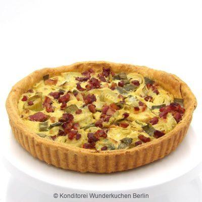 Quiche Lorraine. Online Shop und Lieferservice Kuchen Torten Berlin-