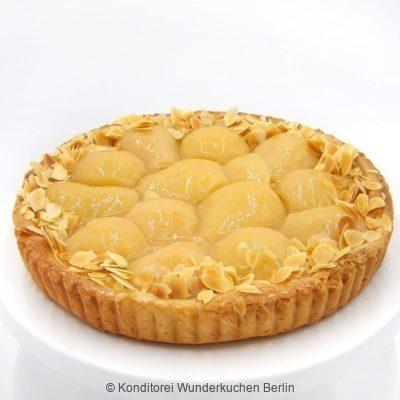 tarte-marzipan-birne. Online Shop und Lieferservice Kuchen Torten Berlin-