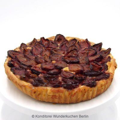 tarte-marzipan-pflaume. Online Shop und Lieferservice Kuchen Torten Berlin-