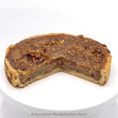 tarte-marzipan-apfel-walnuss. Online Shop und Lieferservice Kuchen Torten Berlin-