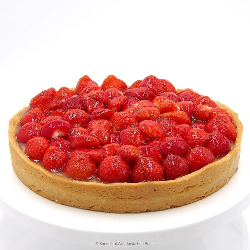 Tarte Schmand Erdbeere