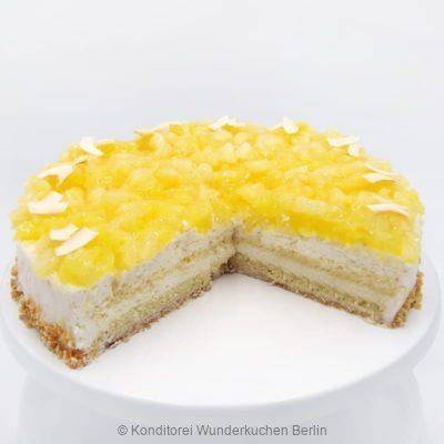 torte-kokos-ananas-. Online Shop und Lieferservice Kuchen Torten Berlin-