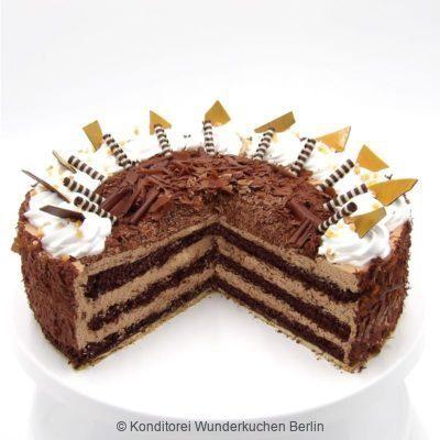 Schoko Mousse Torte. Online Shop und Lieferservice Kuchen Torten Berlin.