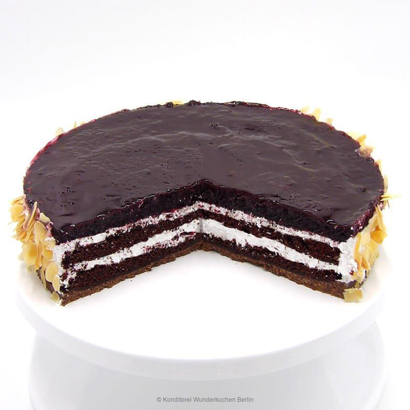 torte-blaubeer-vegan-. Online Shop und Lieferservice Kuchen Torten Berlin-