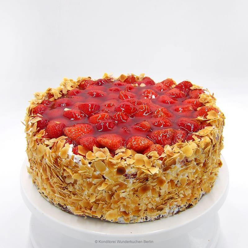 torte-erdbeer-saison-vegan. Online Shop und Lieferservice Kuchen Torten Berlin-