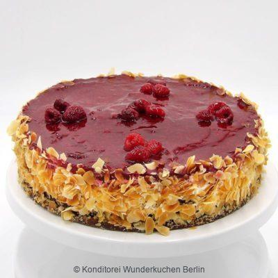 torte-himbeer-vegan. Online Shop und Lieferservice Kuchen Torten Berlin-
