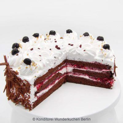 torte-schwarzwaelder-vegan-. Online Shop und Lieferservice Kuchen Torten Berlin-