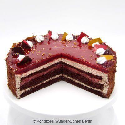 torte-straccia-vegan-. Online Shop und Lieferservice Kuchen Torten Berlin-